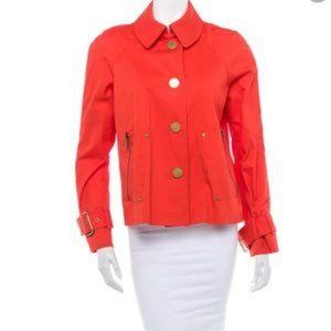 Tory Burch Curtis Utility Jacket, Logo Buttons